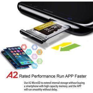 トップクラス A2規格Gigastone Micro SD Card 512GB マイクロSDカード...