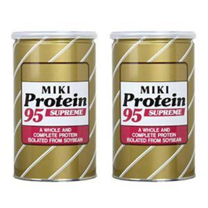 三基商事 ミキプルーン プロティーン95 スープリーム 2缶セット プロテイン ※