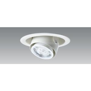 LEDユニバーサルダウンライト 100VLEDランプ交換可能型 Φ100mm 白 UDL-165W-...