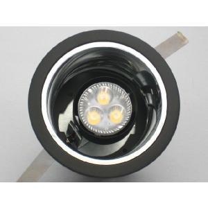 LEDユニバーサルダウンライト 100VLEDランプ&ダイク...