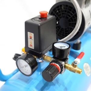 予約販売 エアーコンプレッサー 30L 100V 静音 型 オイルレス エアーツール付 エアープレッシャーゲージ他 日本語説明書付 送料無 DAR3000 lightingworld 14