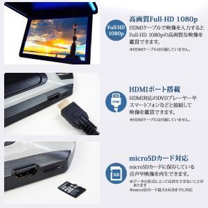 フリップダウンモニター 12.1インチ 高画質 LEDバックライト液晶 HDMI MicroSD対応  送料無 F1230BH|lightingworld|03