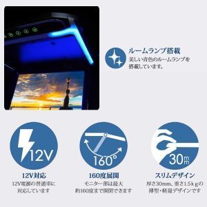 フリップダウンモニター 12.1インチ 高画質 LEDバックライト液晶 HDMI MicroSD対応  送料無 F1230BH|lightingworld|04