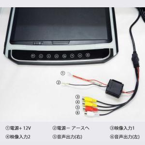 フリップダウンモニター 12.1インチ 高画質 LEDバックライト液晶 HDMI MicroSD対応  送料無 F1230BH|lightingworld|06