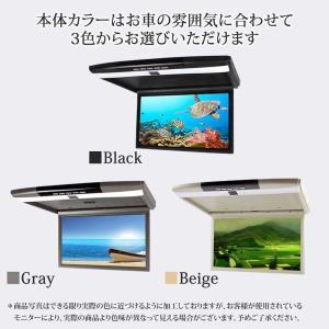 フリップダウンモニター 15.6インチ 12V 24V フルHD 高画質1920×1080 HDMI端子 USB SD 3色選択可 送料無 F1561|lightingworld|03