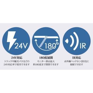24V専用 22インチ大型フリップダウンモニター バス用モニター 送無 F2200|lightingworld|05