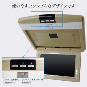 グレー9インチフリップダウンモニター デジタル液晶モニター/IRイヤホン対応可能 3色 送料無 F901|lightingworld|05