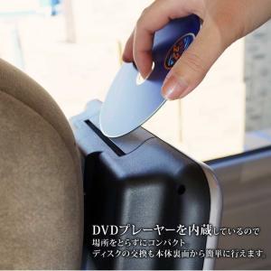 予約販売 ヘッドレストモニター 2個セット DVD プレーヤー付 CPRM対応 10.1インチ タッチボタン スピーカー内蔵 HDMI 送料無 HA101102DB|lightingworld|13
