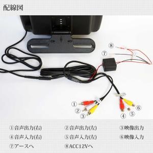 予約販売 ヘッドレストモニター 2個セット DVD プレーヤー付 CPRM対応 10.1インチ タッチボタン スピーカー内蔵 HDMI 送料無 HA101102DB|lightingworld|17