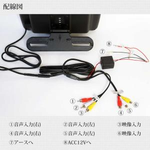 予約販売 ヘッドレストモニター 2個セット DVD プレーヤー付 CPRM対応 10.1インチ タッチボタン スピーカー内蔵 HDMI 送料無 HA101102DB|lightingworld|08