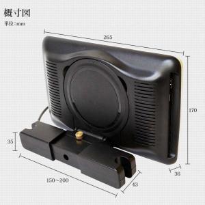 ヘッドレストモニター 10.1インチ DVDプレーヤー 内蔵 SONY製光学レンズ採用 CPRM 対応 後部座席 車 モニター リアモニター 送料無 HA103D|lightingworld|11