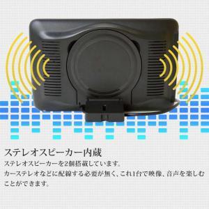 ヘッドレストモニター 10.1インチ DVDプレーヤー 内蔵 SONY製光学レンズ採用 CPRM 対応 後部座席 車 モニター リアモニター 送料無 HA103D|lightingworld|05