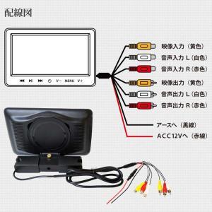 ヘッドレストモニター 10.1インチ DVDプレーヤー 内蔵 SONY製光学レンズ採用 CPRM 対応 後部座席 車 モニター リアモニター 送料無 HA103D|lightingworld|09