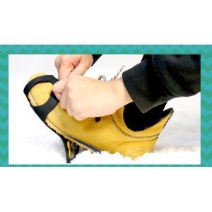 アイススパイク 靴用 滑り止め 雪 スノースパイク 替えピン4個 防水ファスナー収納袋付 スノーシュー ゆうパケット 送料無 2 XO801|lightingworld|04