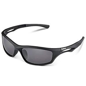 Duduma 偏光 レンズ メンズスポーツサングラス 超軽量 UV400 紫外線をカット 自転車釣り...