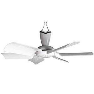 日本電興 ミニシーリングファン 天井扇 軽量 コンパクト 空気循環 簡易取付 ホワイト ND-CFM17|lightlyrow