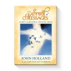 スピリットメッセージオラクルカード ( 日本語解説書付き ジョン・ホランド オラクルカード リーディ...