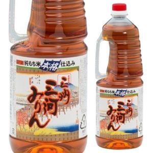 純もち米仕込み 三州 三河みりん ペット 1.8L みりん 味醂 調味料 長S likaman2