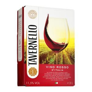 ワイン ボックスワイン 箱ワイン 赤 タヴェルネッロ ロッソ 3L ボックスワイン イタリア BOX BIB バッグインボックス 3000ml|likaman2