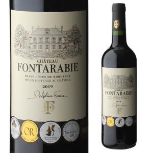赤ワイン シャトー フォンタラビ 2019 ブライ コート ド ボルドー 750ml フランス ボルドー 長S|likaman2
