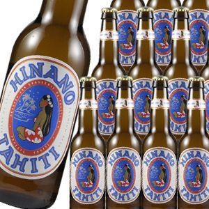 輸入ビール ヒナノビール 330ml 瓶 24本 送料無料 ケース販売 タヒチ アジア|likaman
