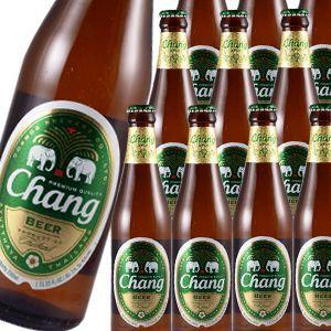 送料無料 ケース販売 チャーン ビール 330ml 瓶×24本 アジア 輸入ビール タイ likaman