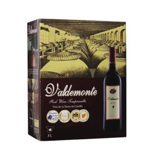 スペイン ワイン ボックスワイン 箱ワイン 赤 バルデモンテ 3L レッド 3000ml 750ml換算420円 長S likaman