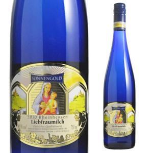 ワイン やや甘口 白ワイン ドイツ リープフラウミルヒ ゾネンゴルト 750ml likaman