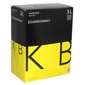 箱ワイン 白 KB オーストラリア シャルドネ 3L 辛口|likaman
