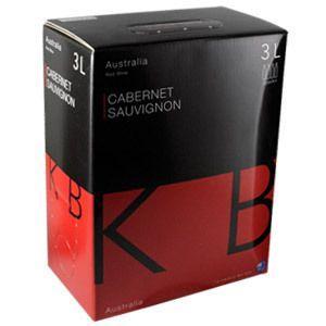 箱ワイン 赤 KB オーストラリア カベルネ ソーヴィニヨン3L 辛口|likaman