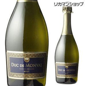 スパークリングワイン デュック デ モンヴァル ブラン ド ブラン ブリュット 750ml 辛口 フランス 長S likaman