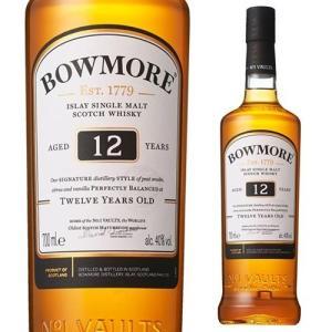 ウイスキー ボウモア 12年 700ml スコッチ シングルモルト アイラ 長S whisky|likaman