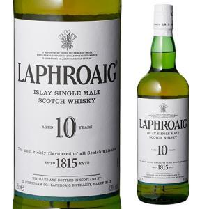 ウイスキー ラフロイグ 10年 40度 700ml スコッチ アイラ シングルモルト ラフロイグ10...