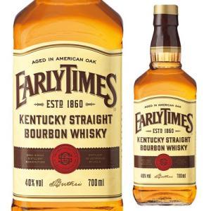 ウイスキー アーリータイムズ イエローラベル 正規 40度 700ml バーボン タイムス 長S whisky|likaman