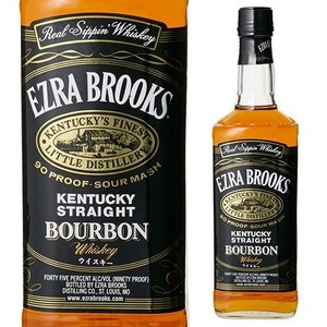 ウイスキー エズラ ブルックス ブラック 45度 750ml バーボン 黒 whisky|likaman
