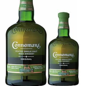 クーリー蒸留所の「カネマラ」。香りはスモーキーなピート(泥炭)香とオーク樽の香りのバランスがよいいか...