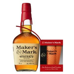 数量限定 グラスオンパック メーカーズマーク 正規 45度 700ml [長S] [ウイスキー][ウィスキー]アメリカン バーボン サントリー 父の日|likaman