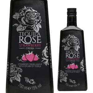 テキーラローズ  ストロベリークリーム 15度 750m リキュール tequila rose 長S|likaman