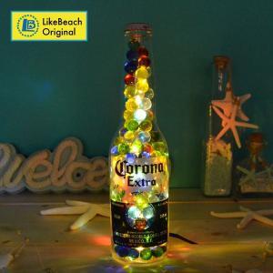 コロナスモールボトルライト(マーブル)インテリアライト 卓上ライト 照明 likebeach