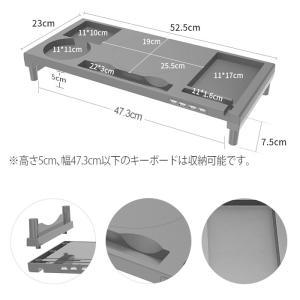 モニター台 机上台 モニタースタンド USBハ...の詳細画像3