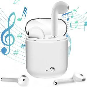 【商品名】 Bluetooth イヤホン 【カラー】 ホワイト 【対応機種】 AndroidでもBl...