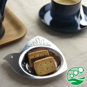 豆皿 おしゃれ 洋食器 日本製 小鳥の形のステンレストレイ スズラン|lilly2016