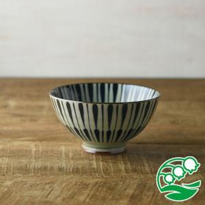 お茶碗 おしゃれ ご飯茶碗 古染八重十草 11.5cm茶碗 和食器 美濃焼 テーブルウエア キッチン 飯碗 スズラン|lilly2016