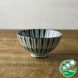 お茶碗 おしゃれ ご飯茶碗 古染八重十草 12.5cm茶碗 和食器 美濃焼 テーブルウエア キッチン 飯碗 スズラン|lilly2016