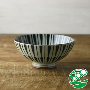 お茶碗 おしゃれ ご飯茶碗 古染八重十草 14cm茶碗 和食器 美濃焼 テーブルウエア キッチン 飯碗 スズラン|lilly2016