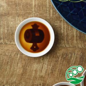 小皿 おしゃれ 豆皿 醤油皿 浮き出る 和食器 美濃焼 かげあそび 8.2cm 白磁 打出の小槌 スズラン|lilly2016