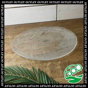 フラットなイタリア製のガラスプレートです。 ピザやディナーを華やかに盛り付けてパーティーを一層楽しく...
