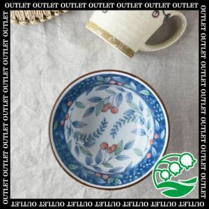 小鉢 おしゃれ サラダボウル アウトレット 洋食器 美濃焼 13cm さくらんぼ小丼 スズラン|lilly2016