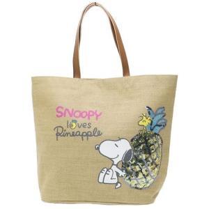 ランチバッグ ランチトート スヌーピー/麻ショッピングバッグ/パイナップル スズラン|lilly2016