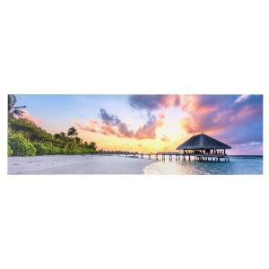 デザイン アートパネル フレーム 幅140cm ワイドタイプ 写真 キャンバス 北欧 アメリカン 西海岸 模様替え 部屋飾り ファブリックパネル ポスター 額縁 ART-122 lily-birch 06